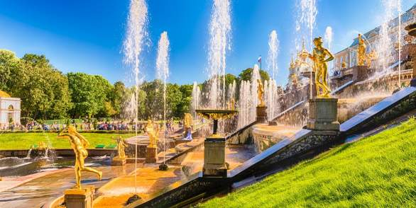Tickets for Hydrofoil to Peterhof at Happy Hours