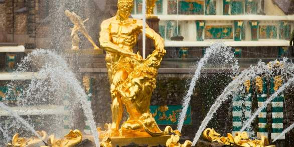 «The Kingdom of Fountains» - a tour by hydrofoil to Peterhof