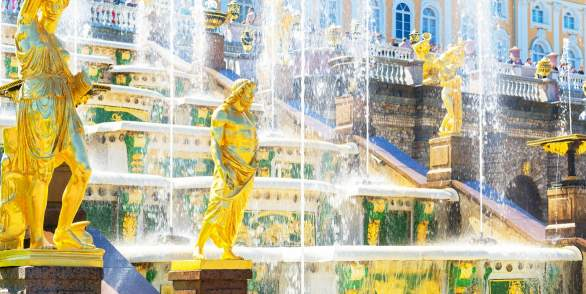 圣彼得堡-彼得霍-圣彼得堡