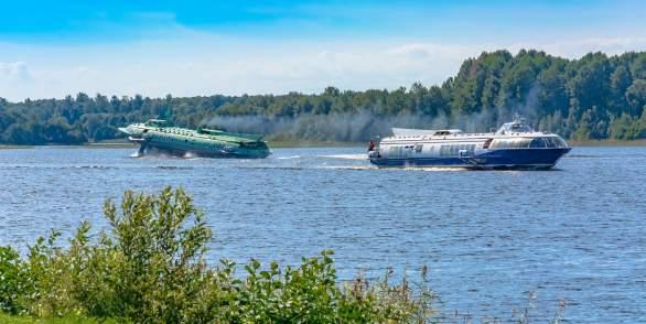 Метеор в Кижи из Петрозаводска и обратно